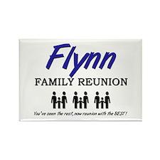 Flynn Family Reunion Rectangle Magnet