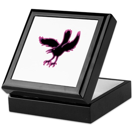 The Crow Keepsake Box