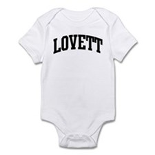LOVETT (curve-black) Infant Bodysuit