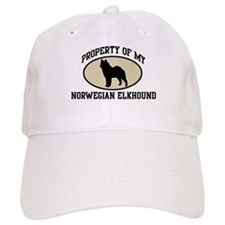 Property of Norwegian Elkhoun Baseball Cap