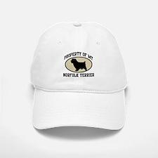 Property of Norfolk Terrier Baseball Baseball Cap
