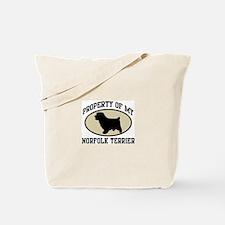 Property of Norfolk Terrier Tote Bag