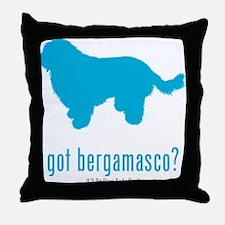 Bergamasco Sheepdog Throw Pillow