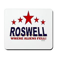 Roswell Where Aliens Fell Mousepad