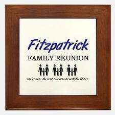 Fitzpatrick Family Reunion Framed Tile