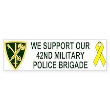 42nd MP Brigade <BR>Family Bumper Bumper Sticker