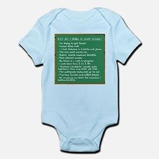 """STILL in Grad School"" Infant Bodysuit"