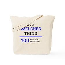 Unique Welch Tote Bag