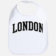 LONDON (curve-black) Bib