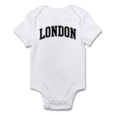 LONDON (curve-black) Onesie