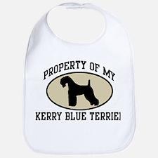 Property of Kerry Blue Terrie Bib