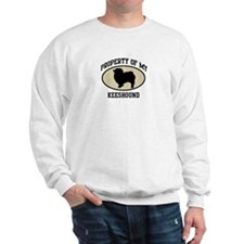 Property of Keeshound Sweatshirt