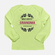 World's Greatest Grandm Long Sleeve Infant T-Shirt