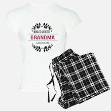 World's Greatest Grandma Cu Pajamas