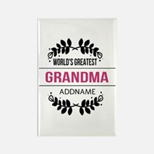 World's Greatest Grandma Custom N Rectangle Magnet