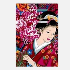 Funny Japanese geisha Postcards (Package of 8)
