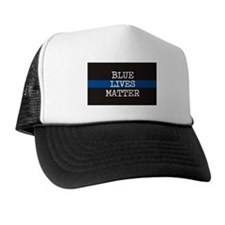 Blue Lives Matter Trucker Hat