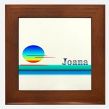 Joana Framed Tile