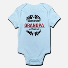 Custom Worlds Greatest Grandpa Infant Bodysuit