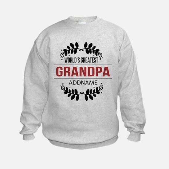 Custom Worlds Greatest Grandpa Sweatshirt