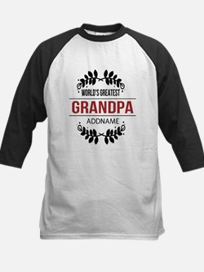 Custom Worlds Greatest Grandp Kids Baseball Jersey