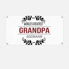 Custom Worlds Greatest Grandpa Banner