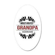 Custom Worlds Greatest Grand Wall Decal