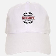 Custom Worlds Greatest Grandpa Baseball Baseball Cap