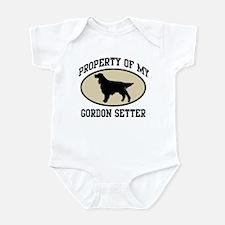 Property of Gordon Setter Infant Bodysuit