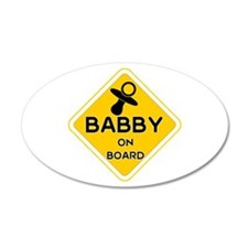 Titty Babby On Board' Wall Decal