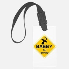 Titty Babby On Board' Luggage Tag