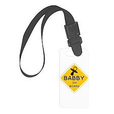 Titty Babby On Board' Luggage Tag