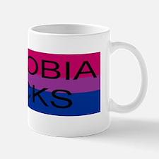 """""""Biphobia sucks"""" Mug"""