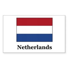 Netherlands Culture Rectangle Decal