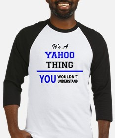 Unique Yahoo Baseball Jersey
