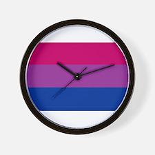 Bisexual Pride Wall Clock