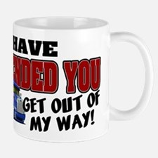 Offended Trucker Canadian Mugs
