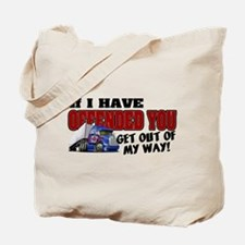 Offended Trucker Canadian Tote Bag