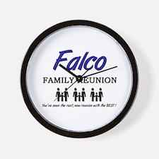 Falco Family Reunion Wall Clock