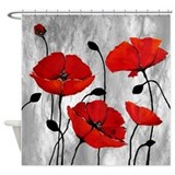 Poppy Shower Curtains