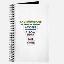 Acknowledge Accept Allow Act Journal