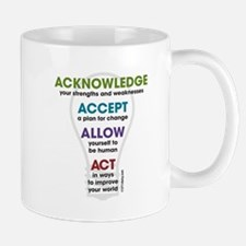 Acknowledge Accept Allow Act Mug