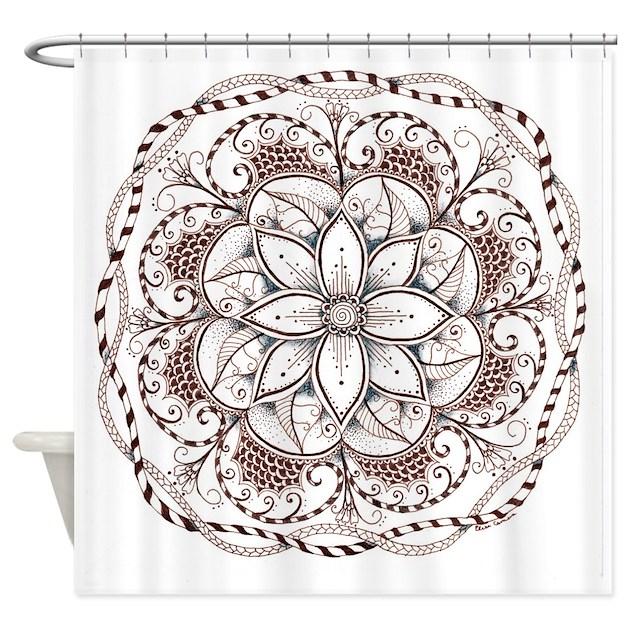 Mandala Shower Curtain By Admin CP127850971
