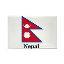 Nepal Rectangle Magnet
