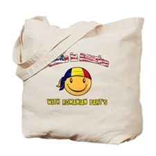 Romanian American Tote Bag