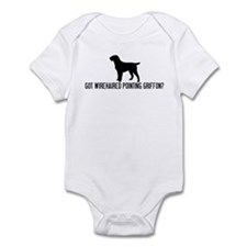 Got Wirehaired Pointing Griff Infant Bodysuit