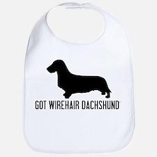 Got Wirehair Dachshund Bib