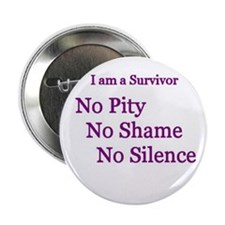 """No Pity"" 2.25"" Button (100 pack)"
