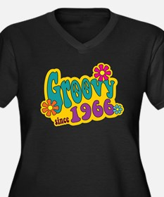 Groovy Since 1966 Plus Size T-Shirt