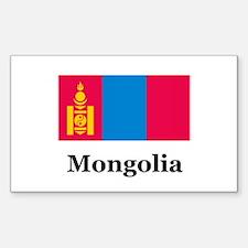 Mongolia Rectangle Decal